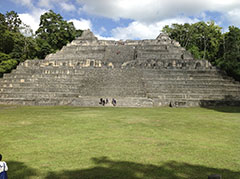 Ancient Pyramid In Belize